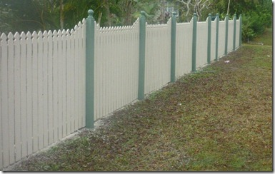 Timber Fencing 4
